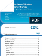 2009 Cox Teen Online & Wireless Safety Survey