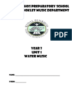 Year 3 Unit 1 Learning Booklet for music
