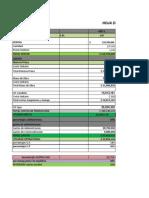 Proyeccion Financiera Unidad Productiva