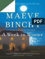 A Week in Winter by Maeve Binchy - Excerpt & Landscape Photos