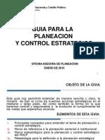 Guia Planeacion y Control Estrategico - OAP