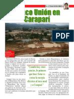 Banco Union en Carapari