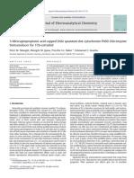 3-Mercaptopropionic Acid Capped ZnSe Quantum Dot-cytochrome P450 3A4 Enzyme
