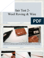 Hair Test Wool