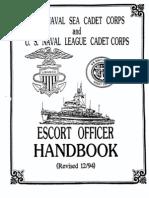 Escort Officers Handbook