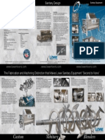 Lowe Sanitary Equipment Brochure (Landscape)