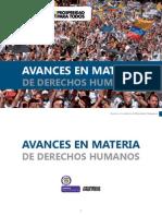 Avances en Derechos Humanos - Español