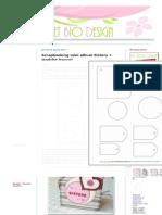 Sweet Bio Design_ Scrapbooking Mini Album Sisters + Qualche Trucco!