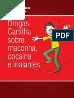 cartilha sobre maconha, cocaína e inalante