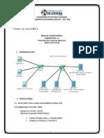 Laboratorio #2 - Capa de Aplicacion DHCP, DNS, y HTTP