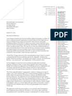 NCAC Arts Advocacy Project Letter to Emerald Art Center re