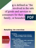 A Retail Intro