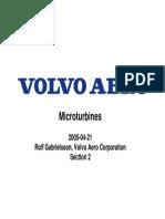 Volvo Aero Microturbines