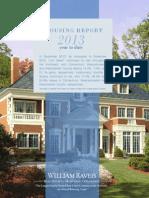 William Raveis Local Housing Data Report for December 2013