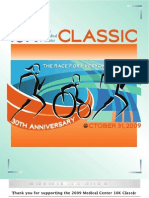 Thank You for Supporting the 2009 Medical Center 10K Classic