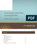 Innovating Toward New Learning Models