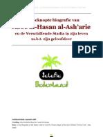 Een Beknopte Biografie Van Aboe Al-Hasan Al-Ash' ari