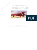 Colour Encyclopedia of Incredible Aeroplanes - Philip Jarrett