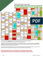 Calendrier Universitaire SHA 2013-2014