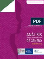 Cuadernos de Información y Género N1 - Área de Salud y Derechos CNM - Diciembre 2013