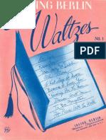Irving Berlin - Waltzes