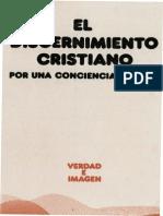 Castillo Jose Maria El Discernimiento Cristiano