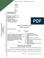 The Light Group, LLC Sexual Harassment Complaint (2011)