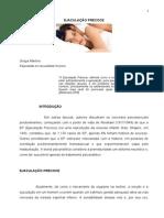 Artigo EJACULAÇÃO PRECOCE