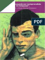 Vattimo, G.; Habermas, J.; Rorty, R.; Et Al. - 'El Ser Que Puede Ser Comprendido Es Lenguaje'. Homenaje a Gadamer