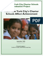 How NYC Charter Schools Affect Achievement Sept2009