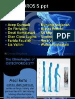 Presentasi Osteoporosis