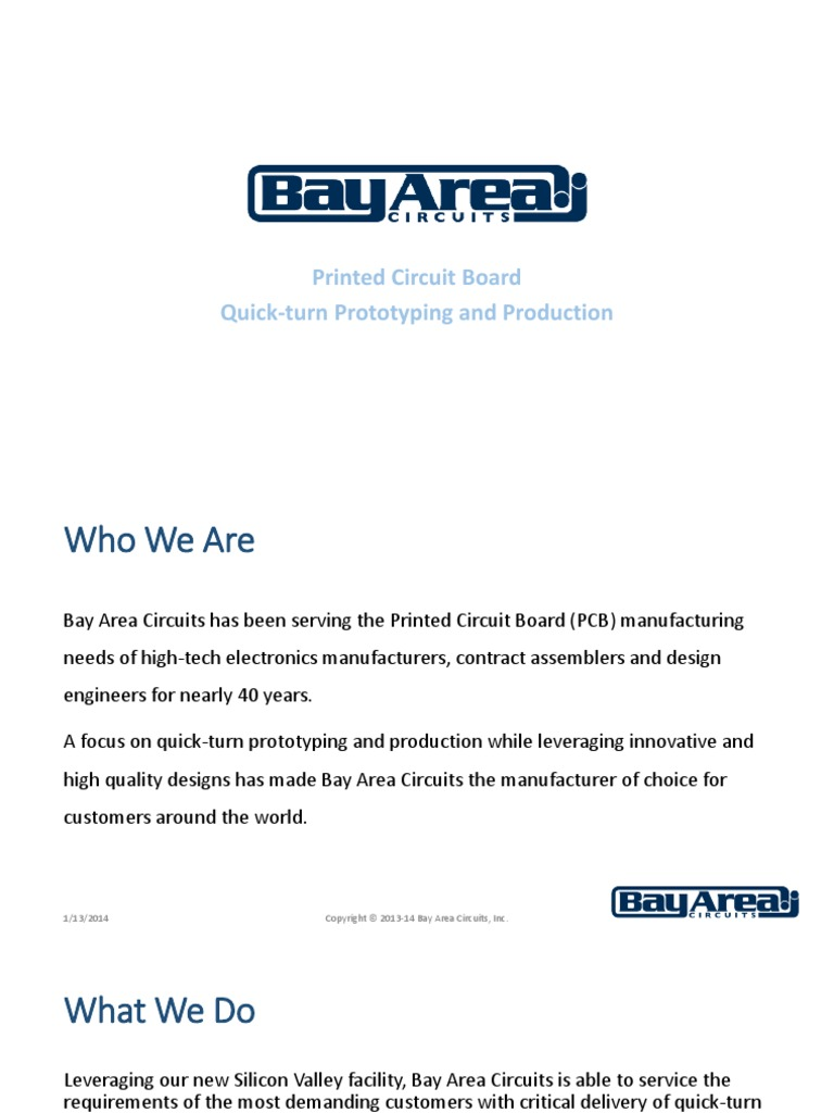 Bac Corporateoverview 1 13 14 Printed Circuit Board Science And Electronic Design Services Technology