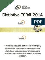 Presentación Sesión Informativa Distintivo ESR 2014 EBC