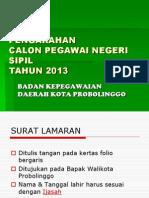 pemberkasan umum 2013
