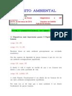 caderno - DIREITO AMBIENTAL - Luiz Ant ¦nio de Souza