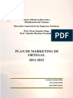 Plan de Marketing de Ortegal 2011-2015