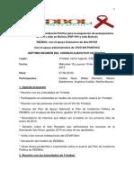 Acta 7ma Reunión Consejo Ejecutivo de REDBOL, 18-19 de diciembre de 2013 en Trinidad