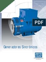 003  Generadores síncronos línea G (marca WEG)