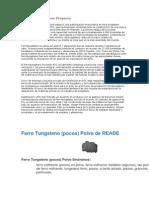 ATC Ferrotungsteno Proyecto