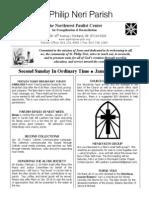 Bulletin for January 19 - 2014