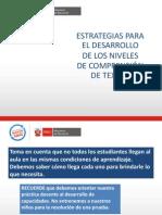 Ppt Estrategias Para El Desarrollo de Comprension de Texto (2)