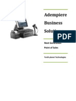 Adempiere Next Generation Point of Sales