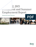 Ivey Employment Report