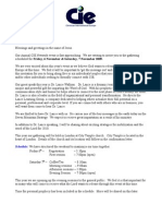 2009 - CIE Invitation & RSVP Letter - 20-9-09