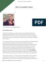La oración de Uribe a la madre Laura  -  El Periódicko