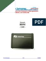 FGTech BDM User Manual CAR