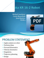 The Kuka KR 16-2 Robot