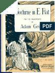 Nocturne in E Flat Adam Geibel