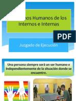 Derechos Humanos de Los Internos e Internas