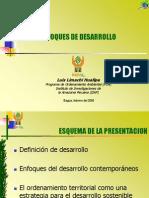 1. Enfoques de Desarrollo